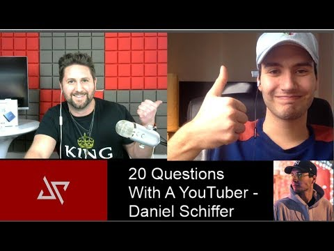 20 Questions with a YouTuber FEATURING DANIEL SCHIFFER