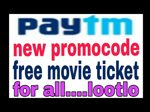 paytm new promocode launched!! free movie ticket for all! techupdate 2