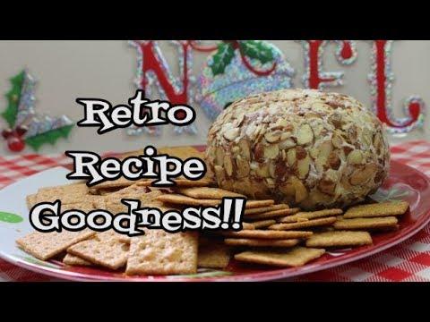 Pineapple Cheeseball ~ Retro Recipe ~ 1960's Throwback Recipe ~  Holiday Treat ~ Noreen's Kitchen