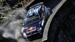 High Speed Rallying in France   FIA World Rally Championship 2015