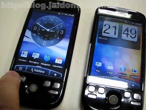 Teste HTC Magic - Android 1.5 x 2.1 - video 3