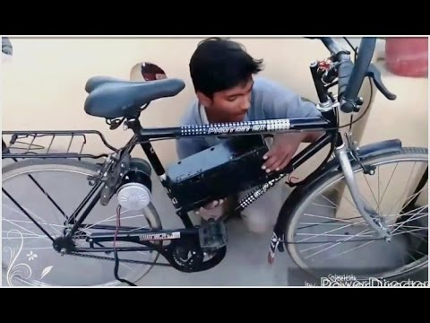 How to make electric bike at home part 2 || Creative Science