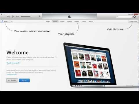 iTunes 11: How to Enable Menu Bar & Sidebar View iphone ipad devices or playlists