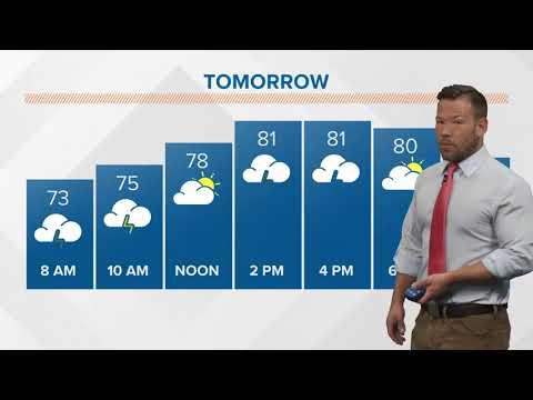 Morning weather forecast 5-29-2018