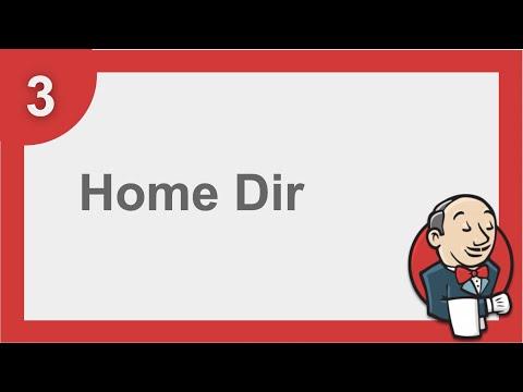 Jenkins Beginner Tutorial 3 - How to change Home Directory