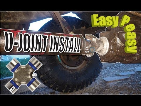 How to replace U joints with no special tools
