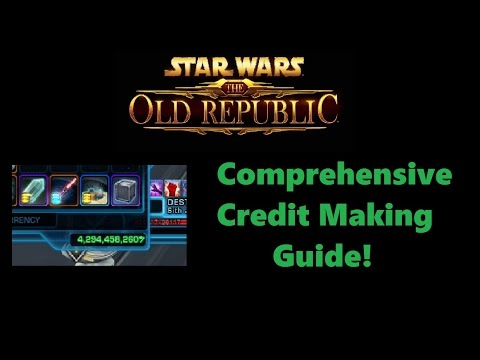SWTOR: The Best Way To Make Credits Patch 5.3