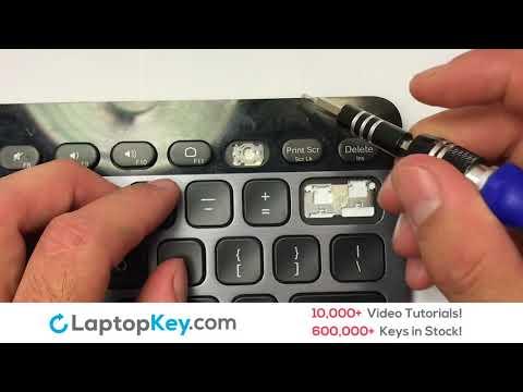 Logitech Keyboard Key Repair GuideBluetooth Illuminated Keyboard K810 Y-R0028
