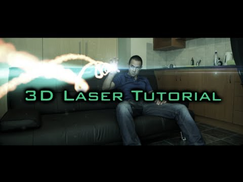 After Effects Tutorial - 3D Laser With Red Giant Form Plugin