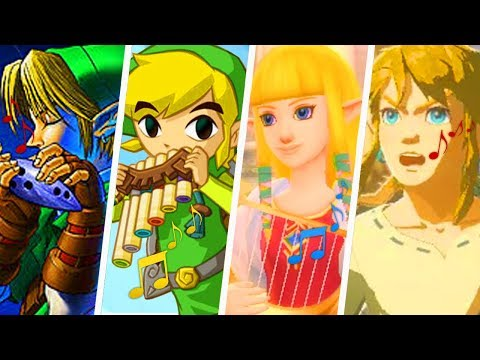 Evolution of The Legend of Zelda Theme Song (1986 - 2019)