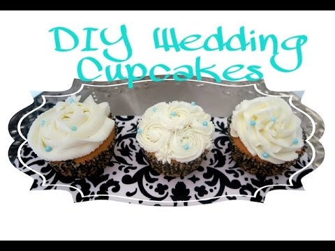 How To Make QUICK & Easy Wedding Cupcakes | Cake Tutorial for beginners  - Sharron's Take