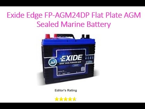 Exide Marine Battery Review and Buying Guide