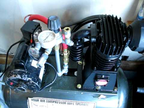 Harbor Freight 67697 145 PSI 3 Horsepower Twin Cylinder Air Compressor Pump as a replacement.