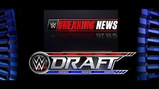 WWE BREAKING NEWS WWE 2017 WWE Draft Details LEAKED - FULL WWE 2017 NEWS!