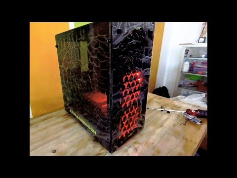 Unboxing & Test Armaggeddon M1G Cheap PC Gaming Case
