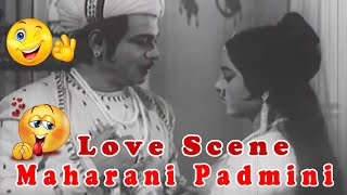 Love Scene from Maharani Padmini Bollywood Hindi Classic Movie Scene