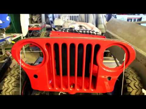 Willys Snowblower CJ5 Silicone hoses, Pullmax Beading