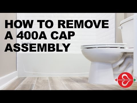 When Toilet Not Filling Up or Slowly Filling: Remove & Replace Cap Assembly of 400A Fill Valve