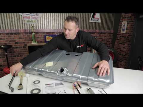 How To Install Holley Sniper EFI Conversion Fuel Tank Complete System