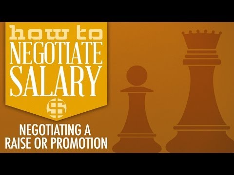 How to Negotiate Salary: Negotiating a Raise or Promotion (Trailer)