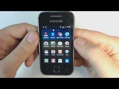 Samsung Galaxy Y S5369 - How to remove pattern lock by hard reset
