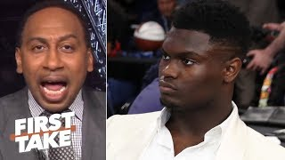 Zion isn't a superstar until he proves it with the Pelicans - Stephen A.   First Take