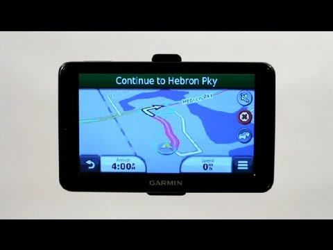 How to Use a Garmin GPS With Paper Maps : Using a Garmin