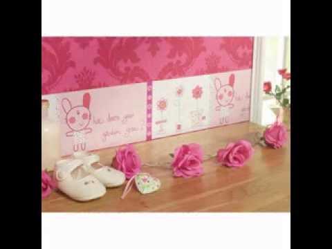 Cute Baby room wallpaper design ideas