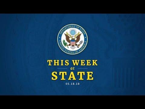 This Week at State: May 18, 2018