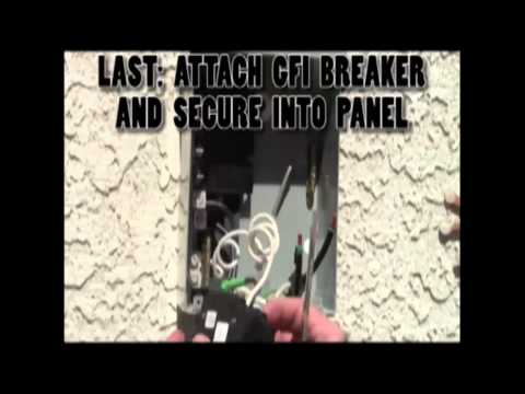 # 43 How to install a 3 wire hot tub GFI
