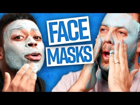 Guys' First Time Using FACE MASKS! (Dude View)