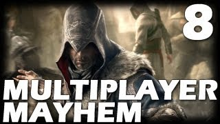 Assassin's Creed: Revelations Multiplayer Mayhem - Episode 8 (Deathmatch Gameplay Commentary)