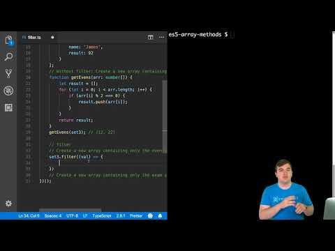 Using the JavaScript filter Array Method