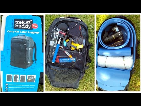 How to Make a Camera bag Backpack out of a Trek Buddy and Camping Mat