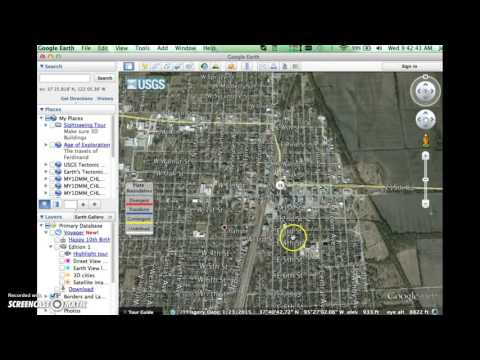 Units and Measurements in Google Earth
