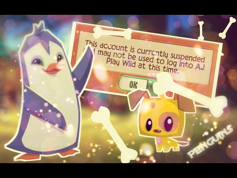 ANIMAL JAM PLAY WILD - PENGUINS ARE HERE BUT I'M SUSPENDED