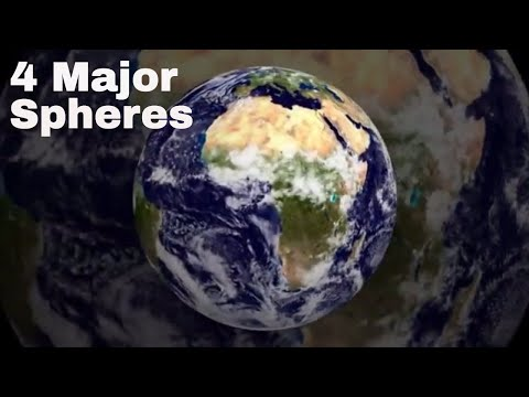 4 spheres of the earth