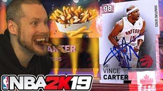 I became Canadian for Vince Carter NBA 2K19