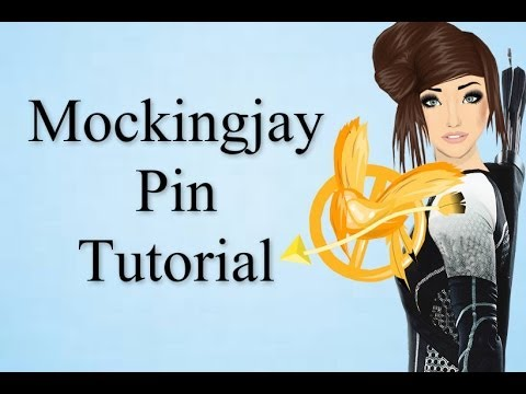 Stardoll Mockingjay Pin Tutorial | Hsm3rocks11011