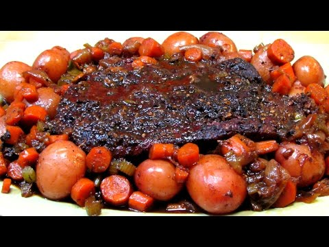 How to Make BEST EVER Pot Roast - Guinness Beef Pot Roast Recipe