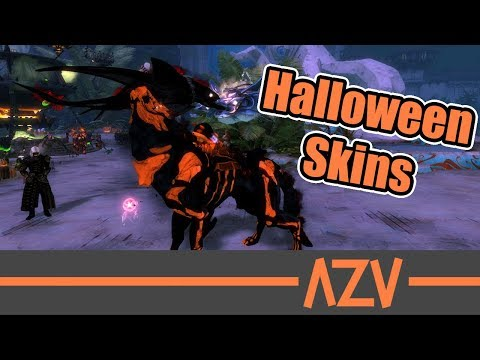 🎃 Halloween Skins 🎃 Mounts, Outfits, Weapons, other Items 👻 Guild Wars 2