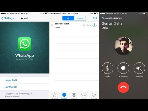 WhatsApp voice calling now available on iOS