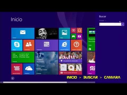 | FACILISIMO | SIN PROGRAMAS | Ver webcam en pantalla. Windows 8