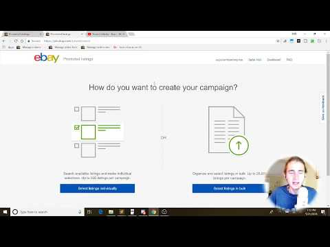How to Set Up a Promoted Listing Campaign on eBay