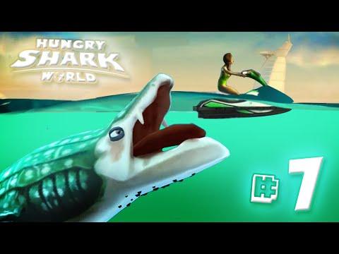 WHALE SHARK!! - Hungry Shark World   Ep7 HD