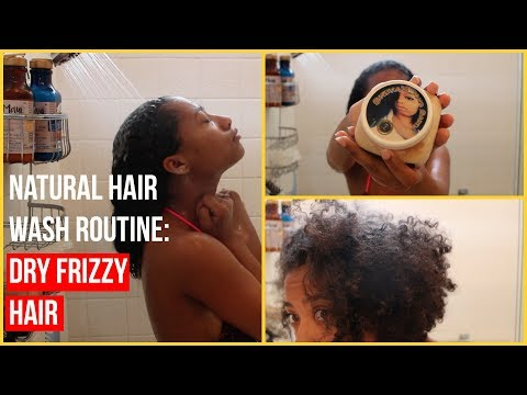 Wash Day Routine for DRY NATURAL HAIR (ft. Sheva's Haircare)  Tatyana Celeste ❤︎