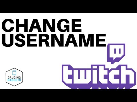How To Change Your Twitch Username - Twitch Tutorial