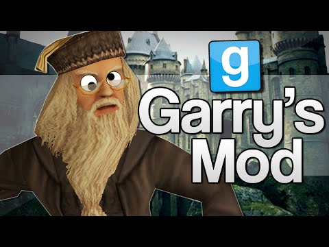 HARRY POTTER WANDS!! | Garry's Mod Funny Moments (GMod)