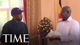 Kanye West And Kim Kardashian West Meet With The President Of Uganda | TIME