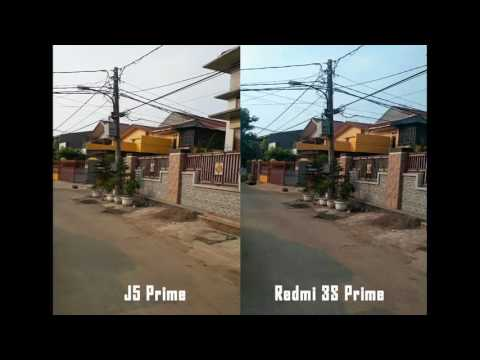 Samsung J5 Prime VS Xiaomi Redmi 3S Prime Video Stabilization Comparison